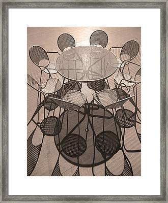 Take A Seat ... Framed Print by Juergen Weiss