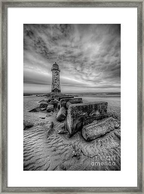 Talacre Lighthouse Framed Print by Adrian Evans