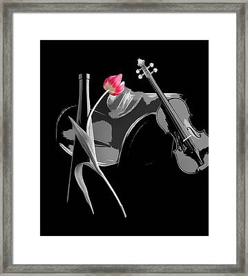 Tango Framed Print by Manfred Lutzius