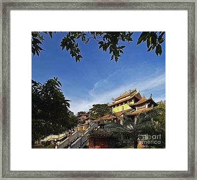 Tao Temple Framed Print by Skip Nall