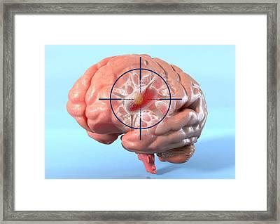 Targeted Psychological Treatments Framed Print by David Mack