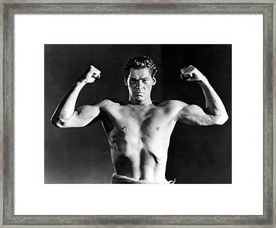 Tarzan, Johnny Weissmuller, 1932 Framed Print