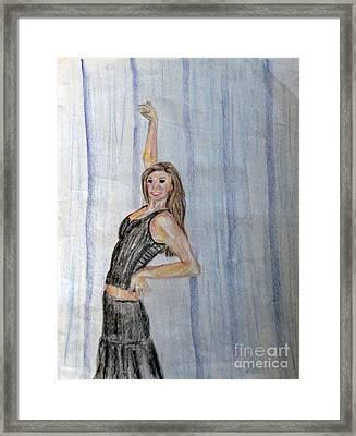 Taylor's Haunting Framed Print by Jana Barros
