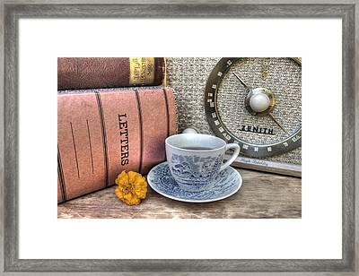 Tea Time Framed Print by Jane Linders