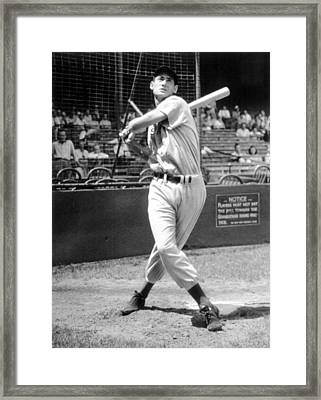Ted Williams, 1941 Framed Print