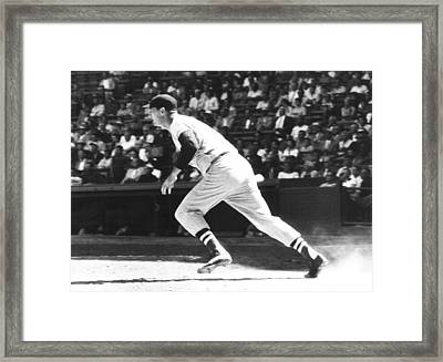 Ted Williams, Ca. 1957 Framed Print