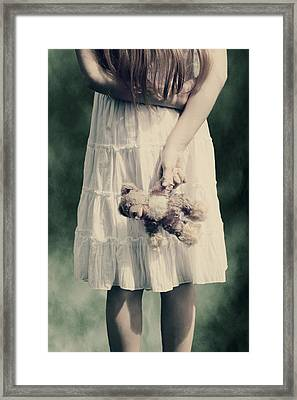 Teddy Bear Framed Print by Joana Kruse