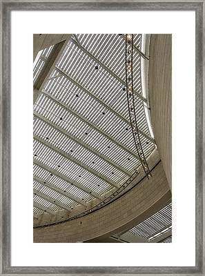 Telfair Sun Screen And Skylight Detail Framed Print by Lynn Palmer