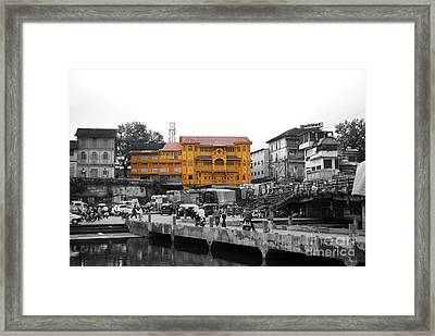 Temple In India Framed Print