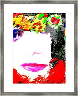 That Girl Framed Print by Rc Rcd