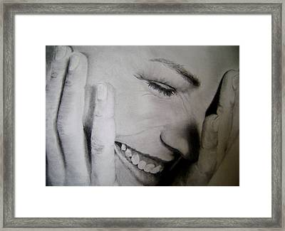 That Shy Framed Print