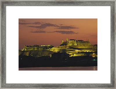 The 17th-century Fortress Of San Felipe Framed Print by O. Louis Mazzatenta