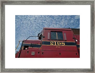 The 2198 Diesel Framed Print