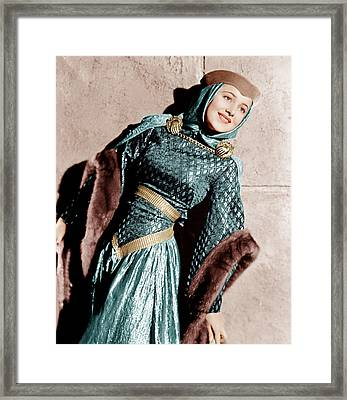 The Adventures Of Robin Hood, Olivia De Framed Print by Everett