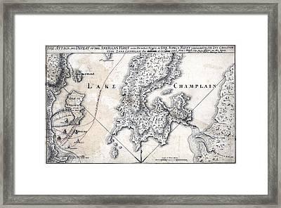The American Revolution. The Battle Framed Print by Everett