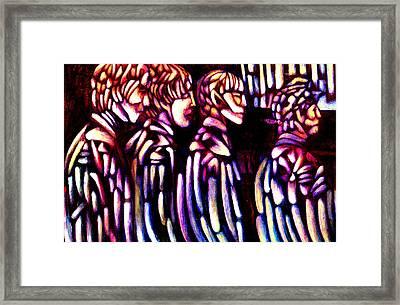 The Beatles Framed Print by Giuliano Cavallo
