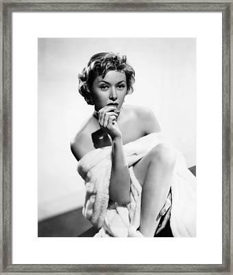 The Big Heat, Gloria Grahame, 1953 Framed Print