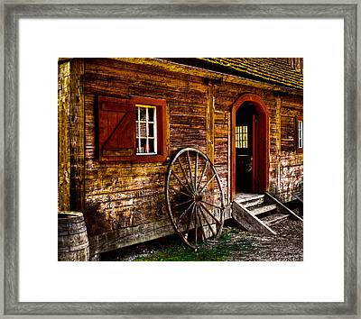 The Blacksmith Shop Framed Print by David Patterson