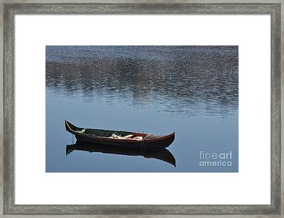 The Boat Framed Print by Armando Carlos Ferreira Palhau