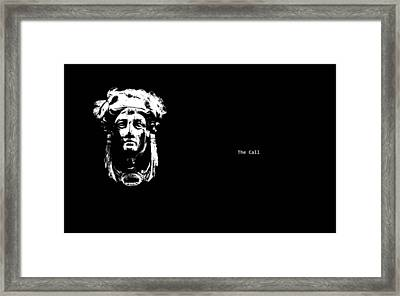 The Call Framed Print by Xoanxo Cespon