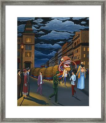 The Chinese New Year Framed Print by Tracy Dennison
