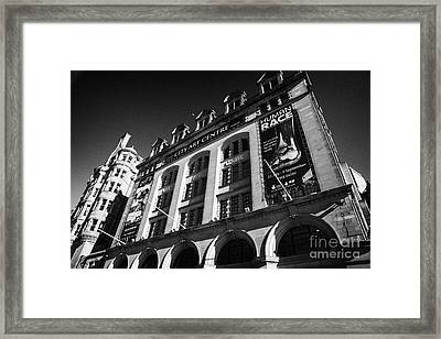 The City Art Centre Edinburgh Scotland Uk United Kingdom Framed Print by Joe Fox