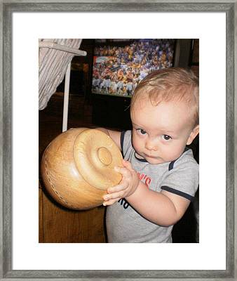 Framed Print featuring the photograph The Cookie Jar by Diane Ferguson