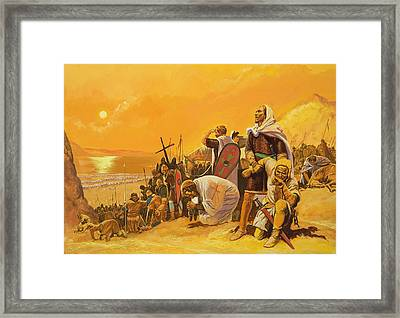 The Crusades Framed Print