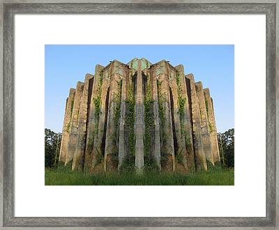 The Cube  Framed Print by Michele Caporaso