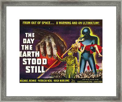 The Day The Earth Stood Still, 1951 Framed Print
