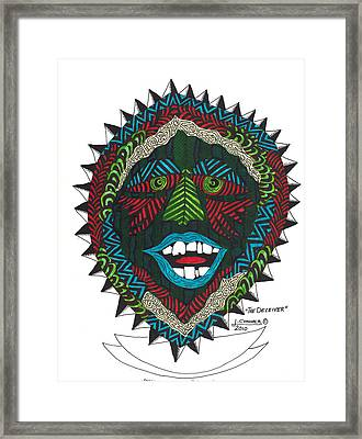 The Deceiver Framed Print by Jerry Conner