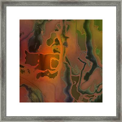 The Dream Scream Framed Print by Richard Fisher