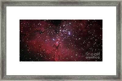 The Eagle Nebula Framed Print by R Jay GaBany
