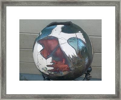 The Eagle Framed Print by Susan Bornstein