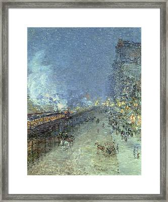 The El Framed Print by Childe Hassam