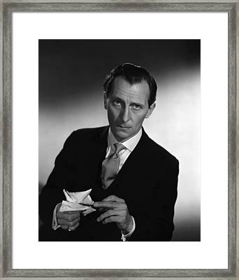 The End Of The Affair, Peter Cushing Framed Print by Everett