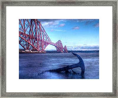 The Forth Rail Bridge Scotland Framed Print