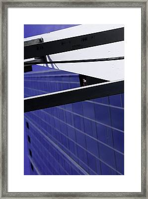 Framed Print featuring the photograph The Gate by Michael Nowotny