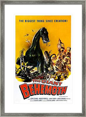 The Giant Behemoth, 1959 Framed Print