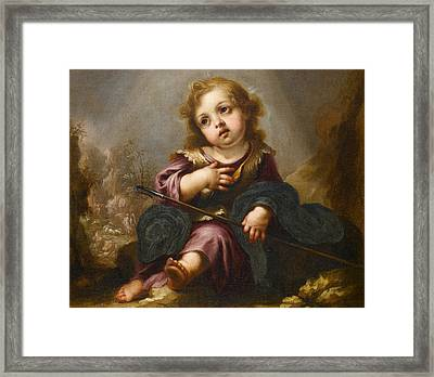 The Good Shepherd- Framed Print by Juan de Valdes Leal