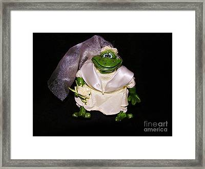 Framed Print featuring the photograph The Green Bride by Sherman Perry