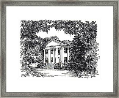 The Grove Tallahassee Florida Framed Print