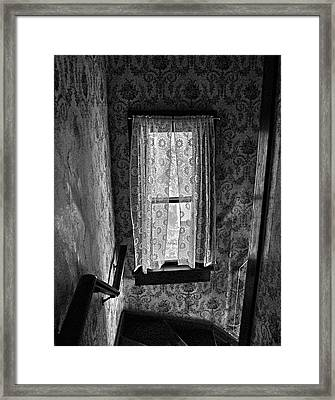 The Hiding Artist Framed Print by Jerry Cordeiro