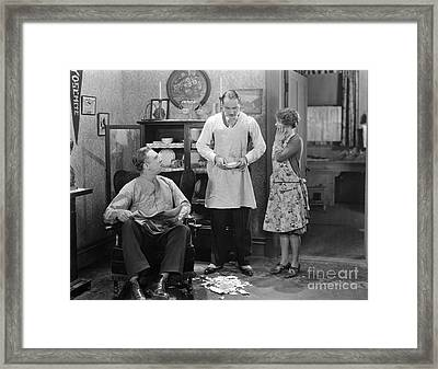 The Irresistible Lover, 1927 Framed Print