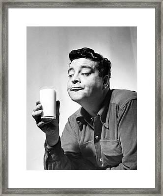 The Jackie Gleason Show, Jackie Framed Print by Everett
