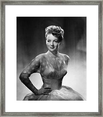 The Jolson Story, Evelyn Keyes, 1946 Framed Print by Everett