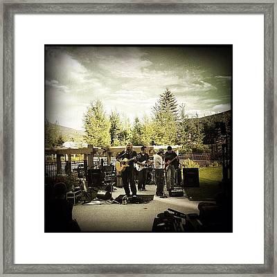 The Jon Dansie Band! Www.thejdb.com Framed Print