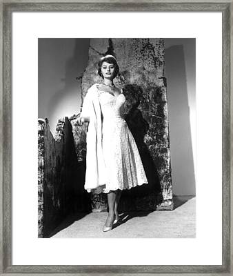 The Key, Sophia Loren, 1958 Framed Print by Everett