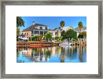 The Law Framed Print by Barry R Jones Jr
