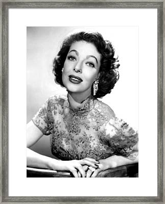 The Loretta Young Show, Loretta Young Framed Print
